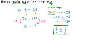lesson two step equations nagwa
