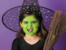 2017 halloween toddler witch makeup ideas