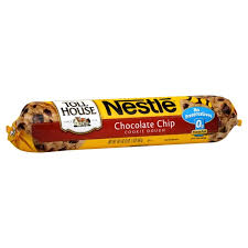 nestle toll house cookie dough