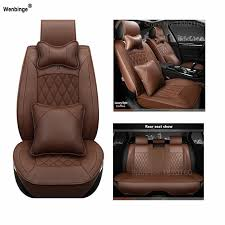 universal pu leather car seat cover for