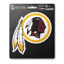 Washington Redskins Decal 8x8 Die Cut Matte Special Order Caseys Distributing