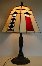 stained glass lamps by dennis umberger