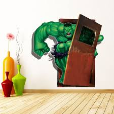 New Avengers Wall Stickers Kids Cartoon The Hulk Wall Mural Decals For Living Room Kids Room And Nursery Decoration Stickers For Your Wall Stickers On The Wall From Carrierxia 3 69 Dhgate Com