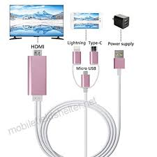 micro usb typec to hdmi cable