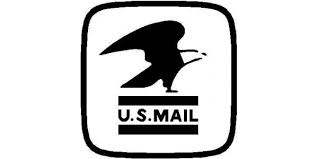 U S Mail Decal Sticker