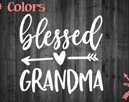 Grandma Decal Etsy