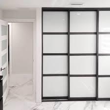 modern closet doors custom size at