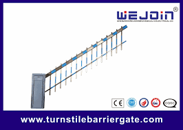 Traffic Commerrcial Car Barrier Gate Vehicle Barrier Gates With Fence Boom