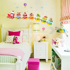 Ice Cream Train For Kids Room Wall Decal Zooyoo769 Decorative Adesivo De Parede Removable Pvc Wall Sticker Pvc Wall Sticker Wall Stickeradesivo De Parede Aliexpress