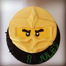 Lego Ninjago Golden Ninja Cake | Ninjago cakes, Ninjago birthday party
