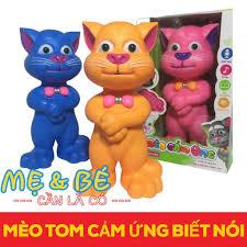 Đồ Chơi Mèo Tom Cảm Ứng Thông Minh Biết Nói, Kể Chuyện , Hát ...