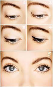 makeup tips a simple cat eye