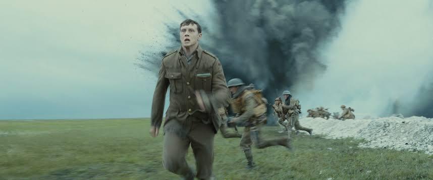 George MacKay en '1917'. Crédito: Universal Pictures