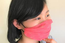 DIY no-sew face mask with fabric ...