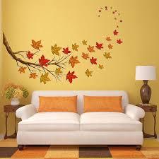Vwaq Autumn Leaves Wall Decals Tree Branch Stickers Fall Decorations