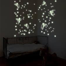 East Urban Home Glow In Dark Magic Fairies Wall Decal Reviews Wayfair