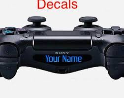 Ps4 Decal Etsy