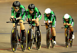Orla Walsh, Hilary Hughes, Mia Griffin, Alice Sharpe - Orla Walsh and Hilary  Hughes Photos - Track Cycling - European Championships Glasgow 2018: Day  One - Zimbio