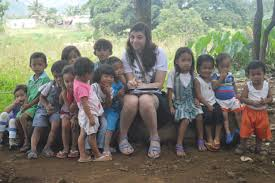 Ada Davis volunteered for The HELP Foundation in the Philippines ...