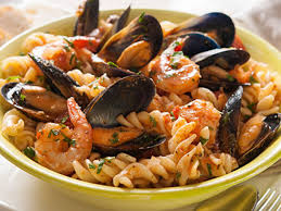 Seafood Pasta with Shrimp and Mussels ...