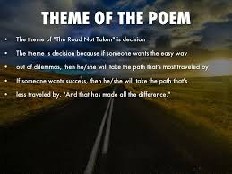 the road not taken by robert frost by