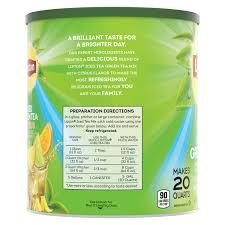 lipton green tea citrus iced tea mix