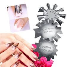 uk multi sizes easy french nail art