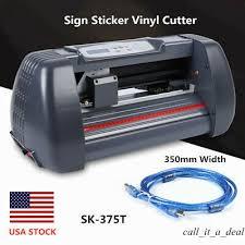 Ad Ebay Url Vinyl Cutter Plotter Machine Sign Maker 370mm Paper Feed Sign Sticker Making Usa In 2020 Vinyl Cutter Vinyl Sign Maker
