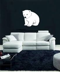 Baby Polar Bear V 2 Vinyl Decal Vinyl Wall Art Decals Baby Polar Bears Vinyl Wall Art