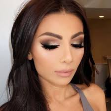 prom makeup warm smokey eye makeup look