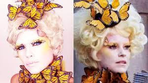 effie trinket costume makeup you
