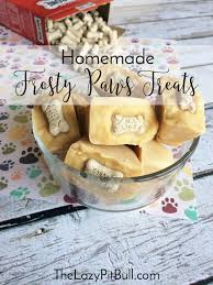 homemade frosty paws treats for dogs