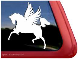 Pegasus Winged Horse Decals Stickers Nickerstickers