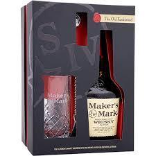 maker s mark bourbon whiskey gift set