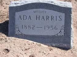Ada Harris (1882-1956) - Find A Grave Memorial