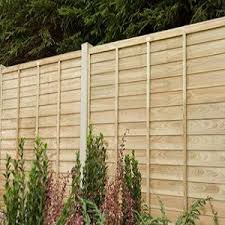 Garden Fence Panels Wood Fence Panels Travis Perkins