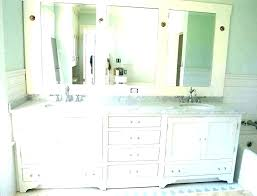 white framed bathroom mirror 30 x 36