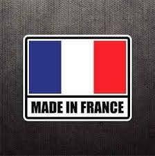 Made In France Flag Sticker Vinyl Decal French Car Sticker For Peugeot Renault Ebay