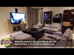 adjustable mantelmount solves problem
