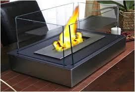 bio ethanol fireplace spark view
