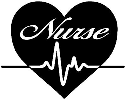 Registered Nurse Rn Heart Beat Decal Practitioner Nursing Window Laptop Car 6