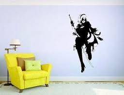 Nier Automata Wall Mural Vinyl Decal Sticker Decor Gamer Video Game Playstation Ebay