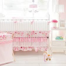 fl crib bedding rosebud lane set