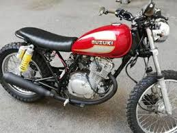 suzuki gn used the parking motorcycles