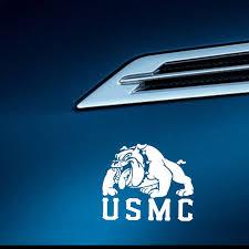 Yjzt 15 2cm 12 9cm Us Marine Corp Usmc Devil Dog Car Sticker Marines Military Vinyl Decal Black Silver C3 0081 Car Stickers Aliexpress