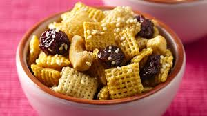 honey nut cherry crunch chex mix recipe