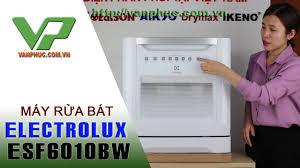 Giới thiệu máy rửa bát Electrolux ESF6010BW công suất 08 Bộ - YouTube