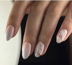 15 long oval shape nail designs