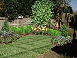 cool landscaping ideas for backyard fences