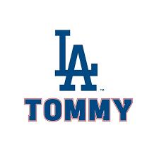 Los Angeles Dodgers Logo Wall Decal Mlb Baseball Decor Mural Vinyl Sticker